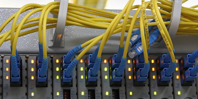 Fiber Optics with SC/UPC connectors